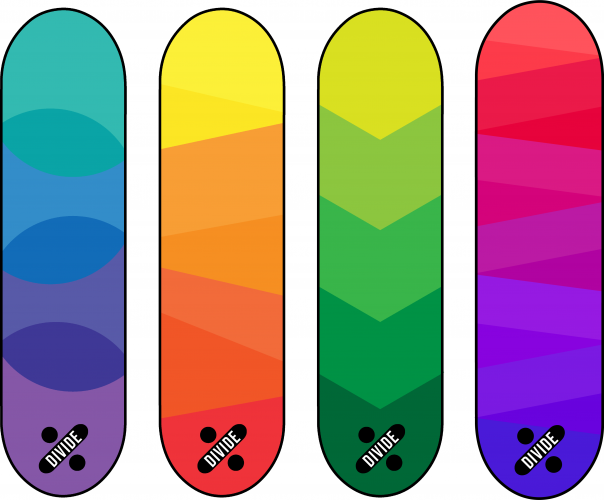 colour block decks